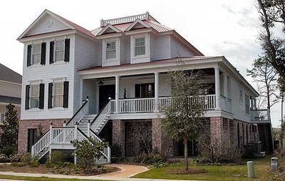 Superb Charleston House Plan - 60042RC thumb - 03