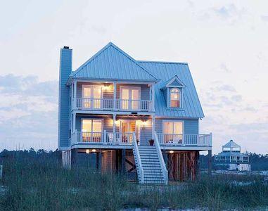 Beach Home Plan Perfection - 60050RC thumb - 01