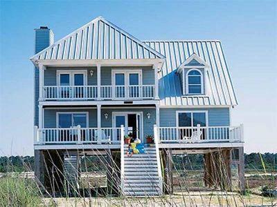 Beach Home Plan Perfection - 60050RC thumb - 02