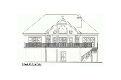 Low country or beach home plan 60053rc architectural for Low country beach house plans