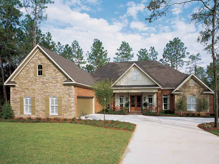 Cedar Vista Craftsman Home Plan 024d 0055: Architectural Designs