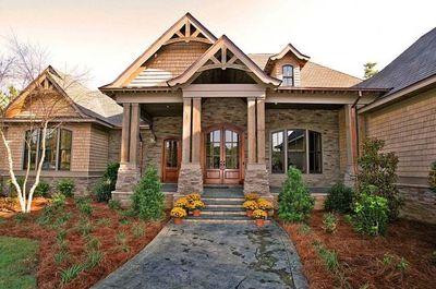 5 Bedroom Magnificent Craftsman Home - 60066RC thumb - 01