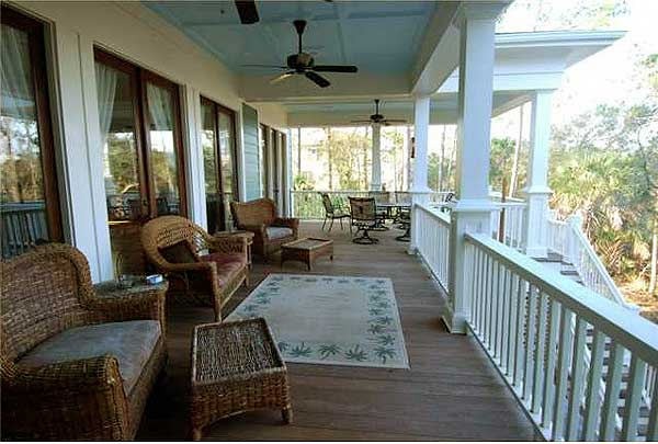 Southern home with wrap around porches 60076rc 1st for Country style homes with wrap around porch