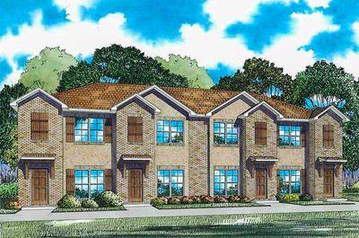 Marvelous Attractive 4 Plex House Plan   60560ND Thumb   02
