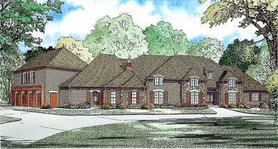 Luxury Plan with Garage Apartment - 60568ND thumb - 01