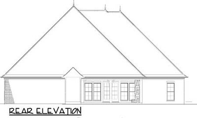 Home Plan With Castle Like Turret 60630nd