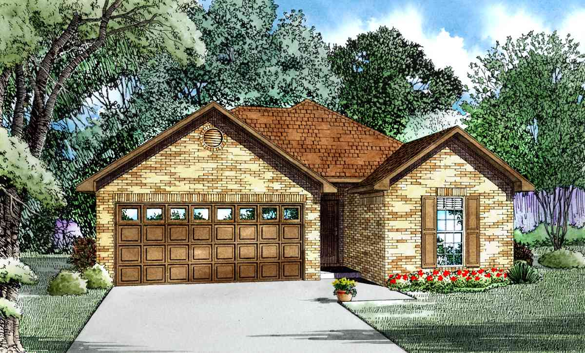 Perfect starter home 60633nd architectural designs for Starter house plans