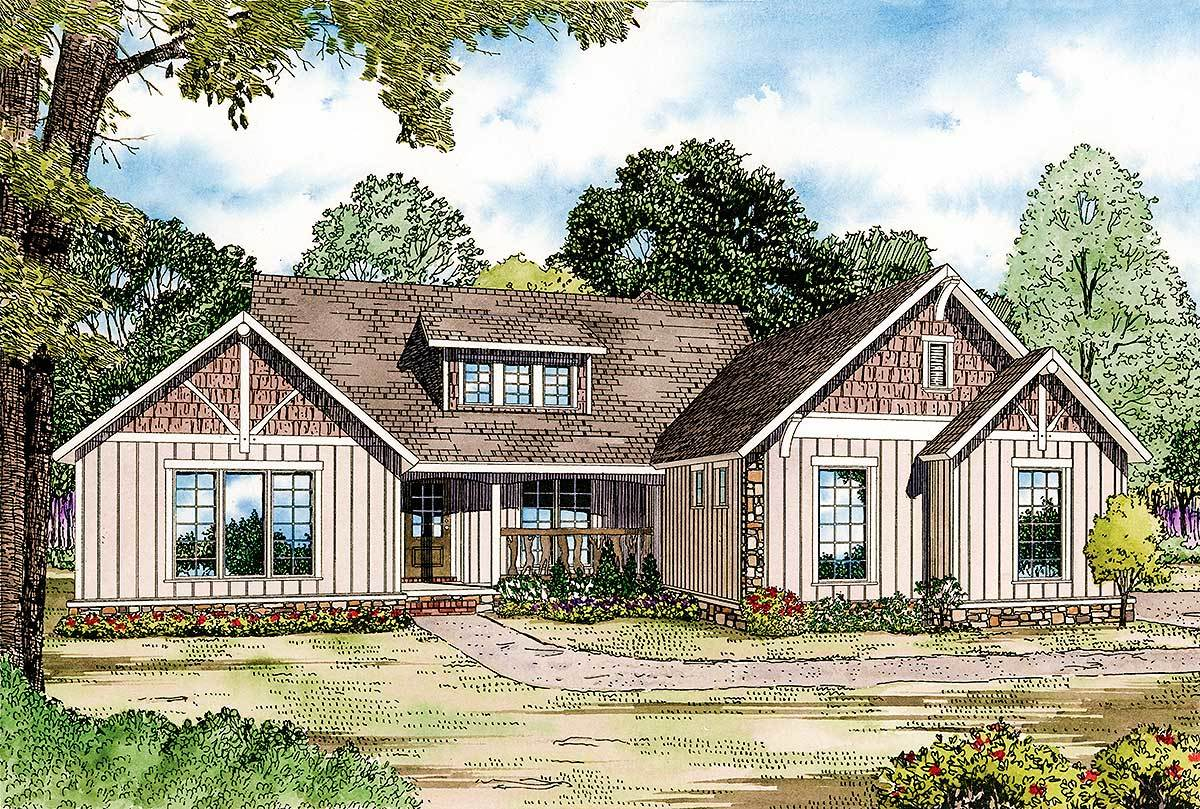 Charming Craftsman House Plan 60669nd Architectural