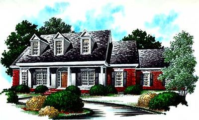Brick And Stucco Cottage 6097rc Architectural Designs