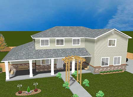 In law apartment or rental income 61268ut 1st floor for House plans with income suite