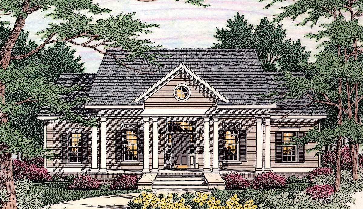 Symmetrical design 62016v architectural designs for Symmetrical house plans