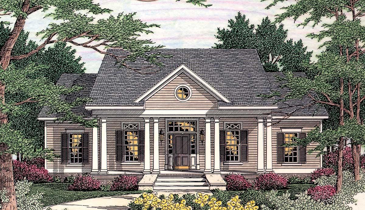 Symmetrical Design 62016v 1st Floor Master Suite Cad