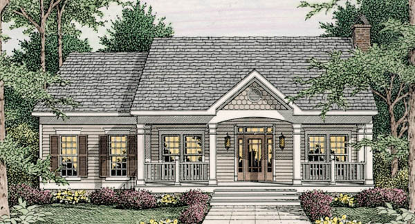 Simple Country Living 62076v Architectural Designs