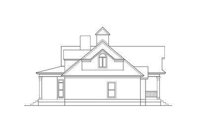 Shingle Style House Plan with Soaring Great Room - 62088V thumb - 03