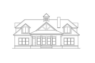Shingle Style House Plan with Soaring Great Room - 62088V thumb - 02