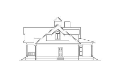 Shingle Style House Plan with Soaring Great Room - 62088V thumb - 04