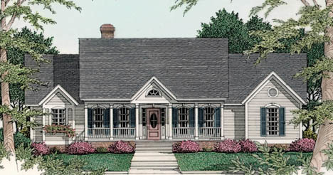 Great for entertaining 6240v architectural designs for Large home plans for entertaining