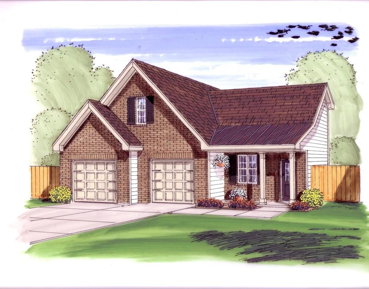 Garage shop with loft 62474dj cad available pdf for Garage shop plans with loft