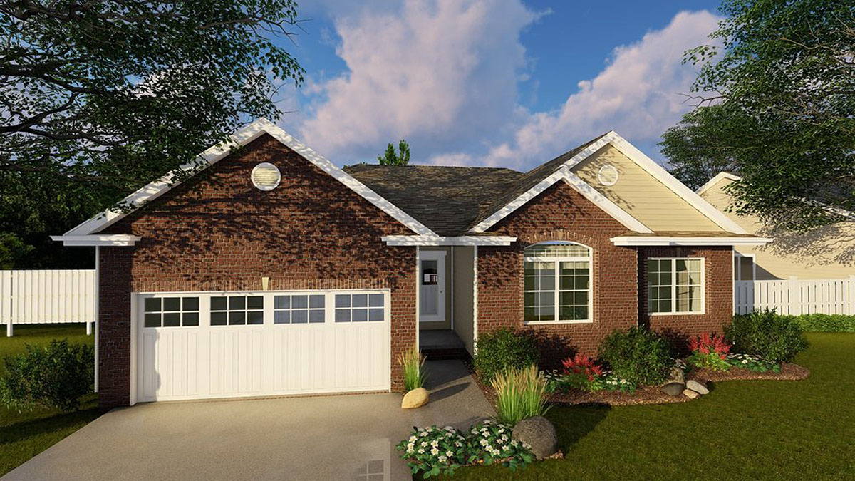 home plans one story simple single story home plan 62492dj architectural designs house plans 1143