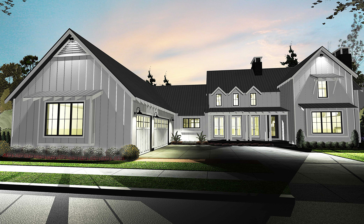 Architectural designs Modern farmhouse plans
