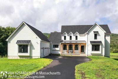 Modern Farmhouse Plan 62544DJ comes to life in Massachusetts - photo 003