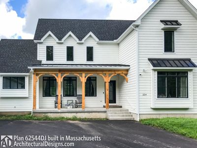 Modern Farmhouse Plan 62544DJ comes to life in Massachusetts - photo 005