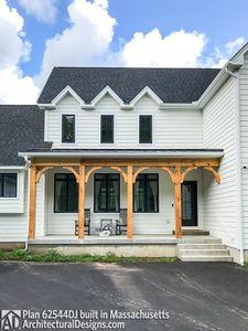 Modern Farmhouse Plan 62544DJ comes to life in Massachusetts - photo 007