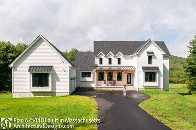 Modern Farmhouse Plan 62544DJ comes to life in Massachusetts - photo 002