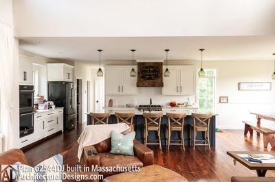 Modern Farmhouse Plan 62544DJ comes to life in Massachusetts - photo 019