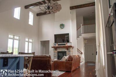Modern Farmhouse Plan 62544DJ comes to life in Massachusetts - photo 026