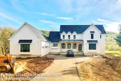 Modern Farmhouse Plan 62544DJ comes to life in Massachusetts - photo 037