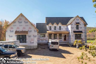 Modern Farmhouse Plan 62544DJ comes to life in Massachusetts - photo 054