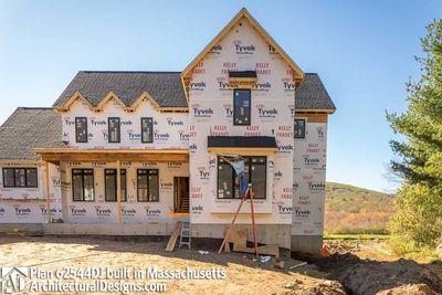 Modern Farmhouse Plan 62544DJ comes to life in Massachusetts - photo 056