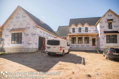 Modern Farmhouse Plan 62544DJ comes to life in Massachusetts - photo 057