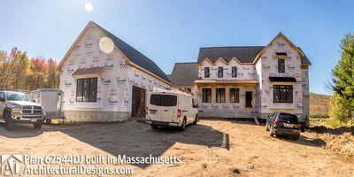Modern Farmhouse Plan 62544DJ comes to life in Massachusetts - photo 058