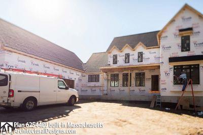 Modern Farmhouse Plan 62544DJ comes to life in Massachusetts - photo 059