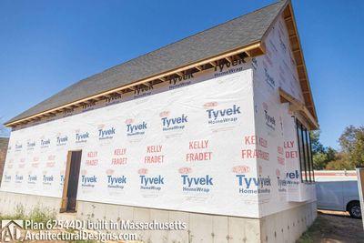 Modern Farmhouse Plan 62544DJ comes to life in Massachusetts - photo 060