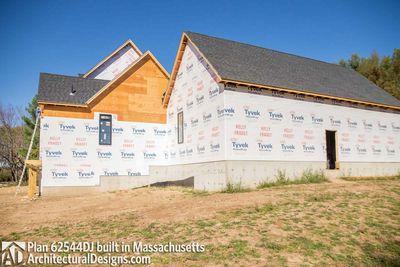 Modern Farmhouse Plan 62544DJ comes to life in Massachusetts - photo 061