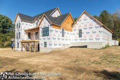 Modern Farmhouse Plan 62544DJ comes to life in Massachusetts - photo 062