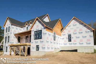 Modern Farmhouse Plan 62544DJ comes to life in Massachusetts - photo 063