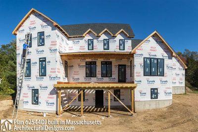 Modern Farmhouse Plan 62544DJ comes to life in Massachusetts - photo 064