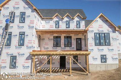 Modern Farmhouse Plan 62544DJ comes to life in Massachusetts - photo 066