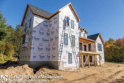 Modern Farmhouse Plan 62544DJ comes to life in Massachusetts - photo 065