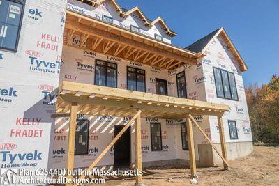 Modern Farmhouse Plan 62544DJ comes to life in Massachusetts - photo 067