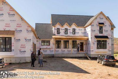 Modern Farmhouse Plan 62544DJ comes to life in Massachusetts - photo 053