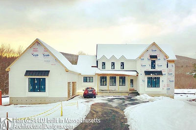 Modern Farmhouse Plan 62544DJ comes to life in Massachusetts - photo 051