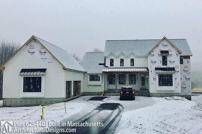 Modern Farmhouse Plan 62544DJ comes to life in Massachusetts - photo 052