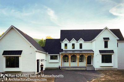 Modern Farmhouse Plan 62544DJ comes to life in Massachusetts - photo 036