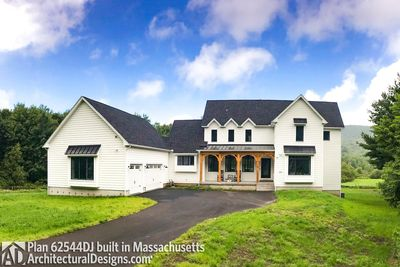 Modern Farmhouse Plan 62544DJ comes to life in Massachusetts - photo 001