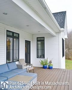 Modern Farmhouse Plan 62544DJ comes to life in Massachusetts - photo 008